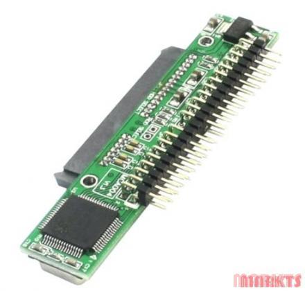 7 15 Pin SATA SSD HDD naar 2.5inch 44pin ide adapter