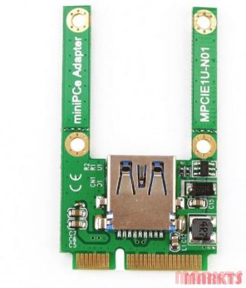 Mini PCI-E Card Slot Uitbreiding naar USB 2.0 adapter