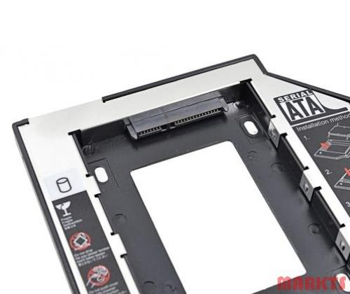 SATA naar SATA 2 HDD HD Hard Driver Caddy voor 9,5 mm