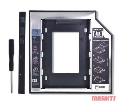 SATA naar SATA 2 HDD HD Hard Driver Caddy voor 9,5 mm