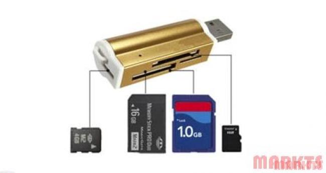 USB 2.0 All in 1 Multi Memory Card Reader